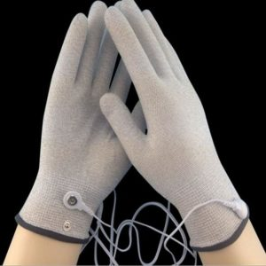 Physiotherapy Gloves Silver Plated Nylon Yarn