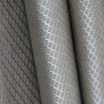 Quilted antiradiation RFID blocking conductive fabric_lit