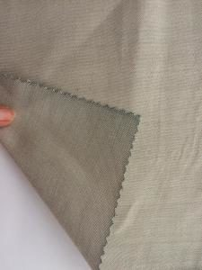 Radiation shielding materials silver Bamboo fiber fabrics for home textile