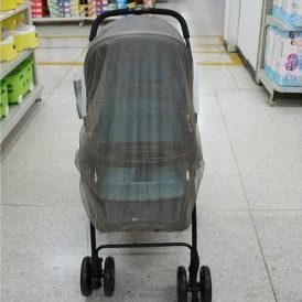 Anti-radiation mosquito net canopy for baby carriage